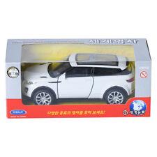Welly 1:34 Range Rover Evoqe White Display Mini Car Miniature Car