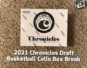 GOLDEN STATE WARRIORS 2021 Chronicles Draft Basketball Sealed Cello Box Break #3