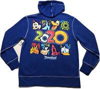 Disney Parks Disneyland Resort 2020 Zip Hoodie Sweatshirt Size MediumMen's