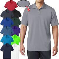 BIG Mens Polo Shirt MICRO MESH Comfortable Moisture Wicking Dri Fit 2XL, 3XL 4XL