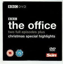 (GO650) The Office, 2 episodes Xmas Highlights - The Sun DVD