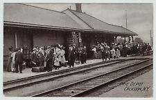 RARE - Erie Railroad Depot  - Callicoon NY -  Erie Train Station Postcard
