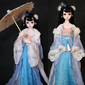 1/3 BJD about 60cm Chinese Ancient Style Beautiful Girl Ball Jointed Doll Gift