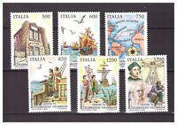 s20701) ITALIA MNH** 1992 C. Colombo 6v