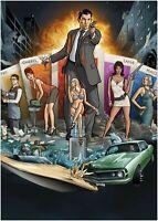 Archer TV Show Large Poster Art Print Maxi A1 A2 A3 A4