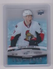 14-15 2014-15 Upper Deck Ice #163 Curtis Lazar 54/99 Rookie Premieres Ottawa