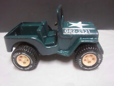 Tonka Jeep, military, fresh paint and and repairs