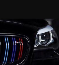BMW Kidney Grill x2 M Sport  Stripes Sticker Decal M3 M5 M6 1 2 3 4 5 Series
