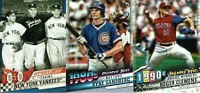 2020 Topps Series 1 & 2 DECADES BEST - You Pick the Cards