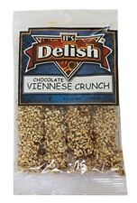 English Toffee Viennese Crunch by Its Delish (Dark Chocolate Coated, 3.5 oz bag)