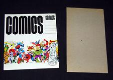 Foom 1973 Rare Mail Away Comic Storage Box(1) by Jim Steranko NOS/Unused Marvel