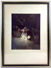 Maxfield Parrish ' Cassim In The Cave' Print Lot 1240
