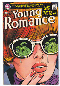 YOUNG ROMANCE 150 (1967 DC) Iconic JAY SCOTT PIKE Cover; FINE 6.0