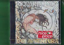RICCARDO COCCIANTE LA GRANDE AVVENTURA CD NUOVO SIGILLATO