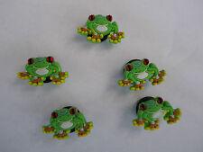 5 x FROG suitable for Crocs Croc Jibbitz