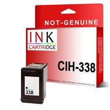 No Oem 338 Tinta Negra De Sustitución Para Hp Photosmart c3175 C3180 c3183 c3188 c3190