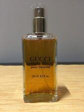 Gucci Pour Homme EDT 125ML 4.2OZ Spray Vintage Original Version 1c70b5767787