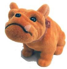 2 bouncing BOBBLE HEAD BULLDOG DOG  bobbing heads car dash pupppy COLLECTIBLE