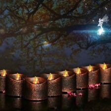 1x Vintage Flameless LED Tea light Candle Halloween Xmas Custome Party Decor NEW