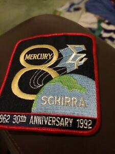 NASA Space Patch mission Astronaut Mercury 8 anniversary