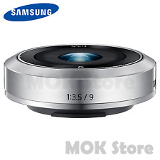 SAMSUNG NX-M 9mm F3.5 ED Lense for Mirrorless Camera / Slim and Durable Lense