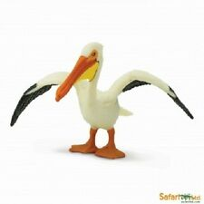 Blanc Pélican 6 cm Série Oiseaux le Terre Safari Ltd 241829
