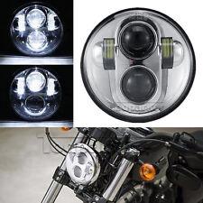"5.75"" LED Projector Headlight Lamp for Harley Night Rod V Special VRSCD VRSCDX"