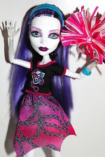Monster High Spectra Vondergeist Fearleading Cheerleader Ghoul Spirit Exclusive