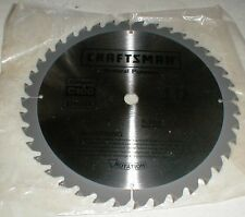 """NEW Craftsman General Purpose 10"""" 40-tooth Carbide C100 Table-Radial Saw Blade"""