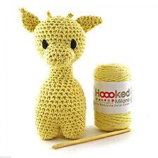 Hoooked Giraffe 'ziggy' Amigurumi Crochet Kit Popcorn