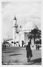 3779) LIBIA, HOMS, VIA SETTIMIO SEVERO, LA MOSCHEA.