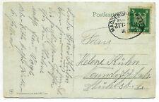 12-2m Bahnpoststempel MAGDEBURG-THALE auf Postkarte nach Neundorf vom 31.7.1926