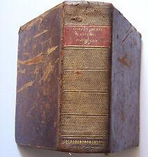 Corpus JURIS CIVILIS Academicum 1789 Freiesleben Ferromontano 2 tomes en 1 vol.