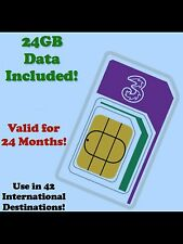 International data roaming SIM. 24gb 4g a banda larga. UK/USA/Europa/Asia SALVA £ £ £ 's