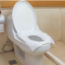 Disposable toilet seat covers 10pcs flushable hygienic paper travel pack KQ