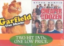 GARFIELD THE MOVIE/ CHEAPER BY THE DOZEN - DVD 2 PACK NEW DVD