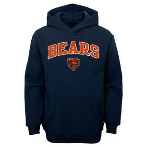 Chicago Bears NFL Boys' Graphic Hoodie, Size Small (8) - New With Tags