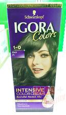 Schwarzkopf Igora Colors 1-0 Black Permanent Intensive Colour Cream