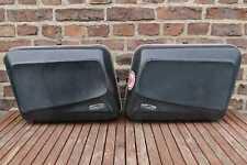 Koffersatz 2 SCHUH-Koffer Motorradkoffer side bags Seitenkoffer mit Schlüssel
