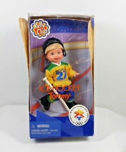 Kelly Club Ice Hockey Tommy Doll Salt Lake Olympic Winter Games 2002 Mattel C3