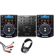 Numark NDX500 USB CD Media Player & Numark M101 2 Channel Mixer DJ Package