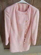 Vintage Just For Joseph Magnin Pink Blazer Coat Size Small