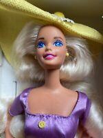 Vintage NIB Mattel 1995 Avon Exsclusive Special Edition Spring Blossom Barbie