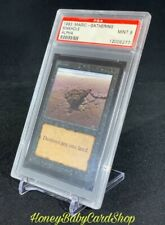 MTG Limited Edition Alpha 1993 Sinkhole PSA 9 Mint Old School 93/94