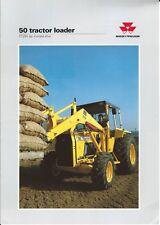 Equipment Brochure - Massey Ferguson - 50 - Tractor Loader - 1993 (E4429)