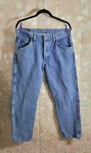 WRANGLER JEANS SIZE 34 X 29 REGULAR FIT