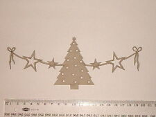 CHIPBOARD - CHRISTMAS SWAG  - CRAFTY ORIGINALS
