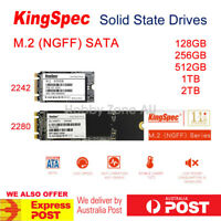 KingSpec 128GB 256GB 512GB 1TB 2TB M.2 NGFF SATA SSD B+M Key Solid State Drives