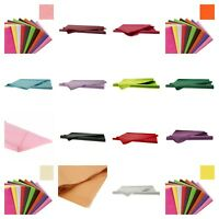 Tissue Paper Acid Free Gift wrapping Packaging 50 x 75 cm 18 colours Va Amounts