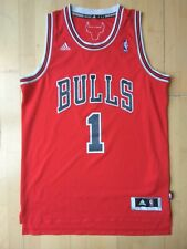 Derrick Rose Adidas Swingman Trikot Jersey Chicago Bulls  NBA Sz. M rot red MVP
